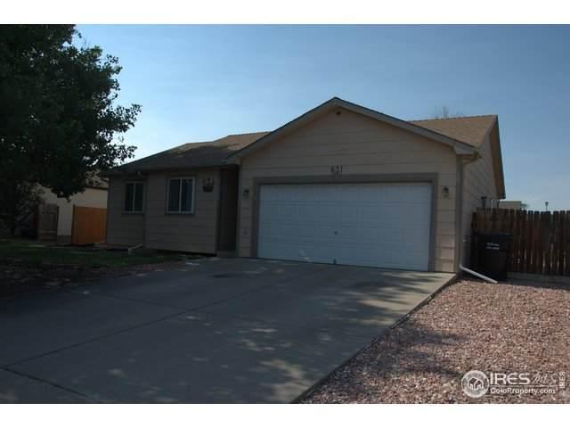 831 E 20th St Ln, Greeley, CO 80631 (MLS #943426) :: Wheelhouse Realty