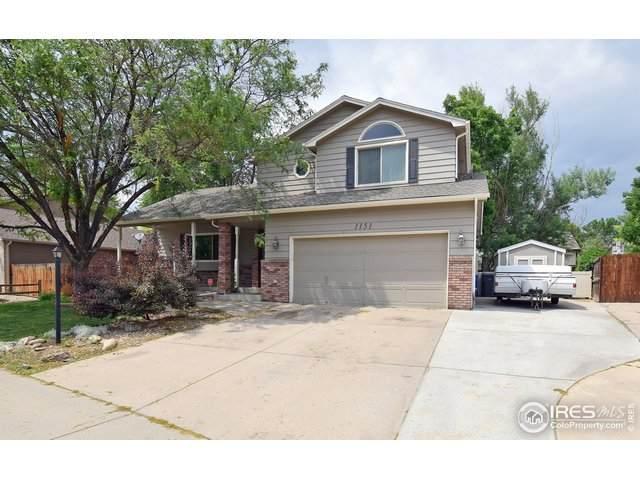 1151 W 45th St, Loveland, CO 80538 (#943478) :: The Griffith Home Team