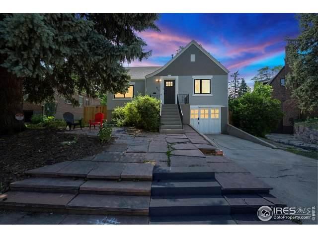 877 13th St, Boulder, CO 80302 (MLS #943517) :: RE/MAX Alliance