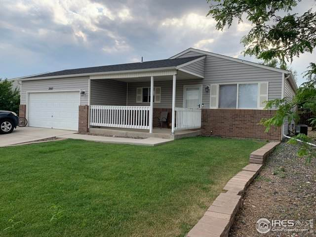 3927 Falcon Ln, Evans, CO 80620 (#943548) :: The Griffith Home Team