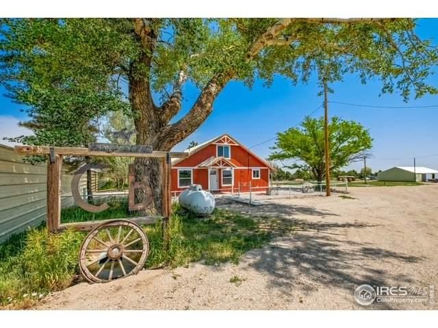 8738 County Road 59, Keenesburg, CO 80643 (MLS #943556) :: Colorado Home Finder Realty