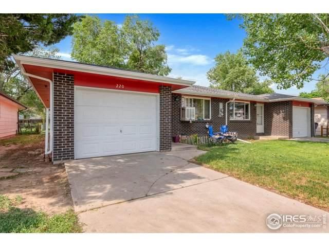 222 E Saint Clair Ave, Longmont, CO 80504 (MLS #943590) :: J2 Real Estate Group at Remax Alliance
