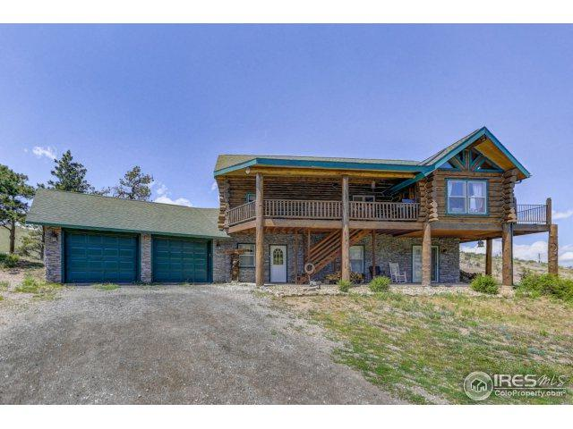 1533 Meadow Mountain Dr, Livermore, CO 80536 (MLS #820768) :: 8z Real Estate
