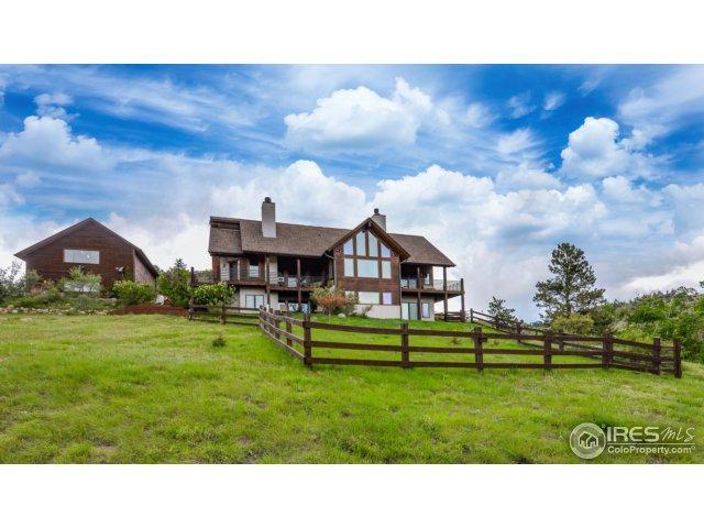 603 Mount Moriah Rd, Livermore, CO 80536 (MLS #822029) :: Kittle Real Estate