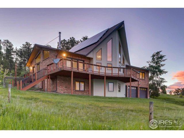 387 Deer Trail Rd, Boulder, CO 80302 (MLS #823414) :: 8z Real Estate