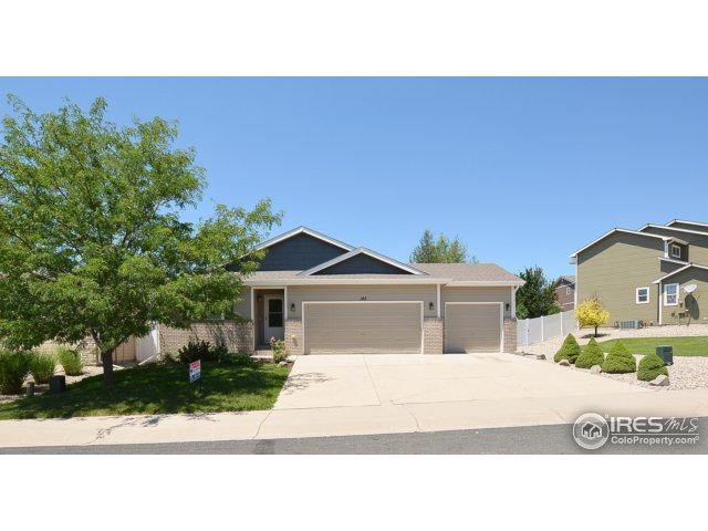 142 Buckeye Ave, Johnstown, CO 80534 (MLS #825335) :: 8z Real Estate