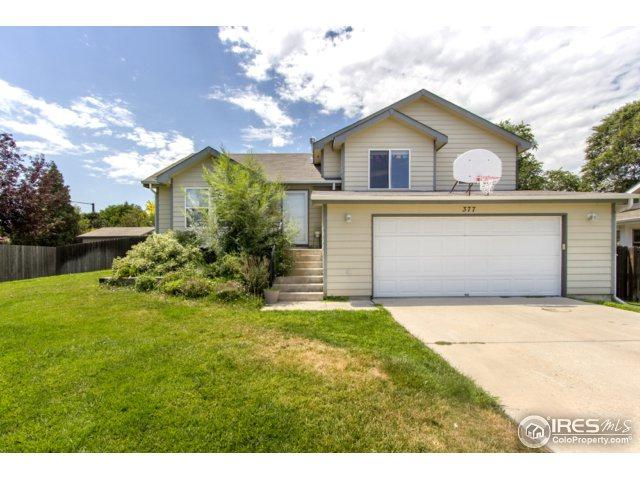 377 50th Ave Pl, Greeley, CO 80634 (MLS #827457) :: 8z Real Estate