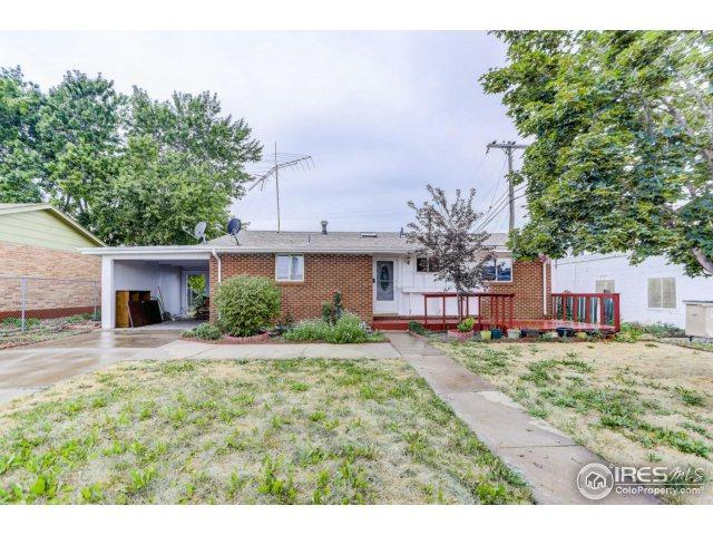 1021 25th Ave, Greeley, CO 80634 (MLS #827951) :: 8z Real Estate