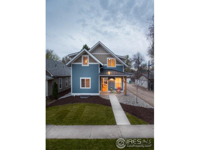 619 Cherry St, Fort Collins, CO 80521 (#832922) :: The Griffith Home Team