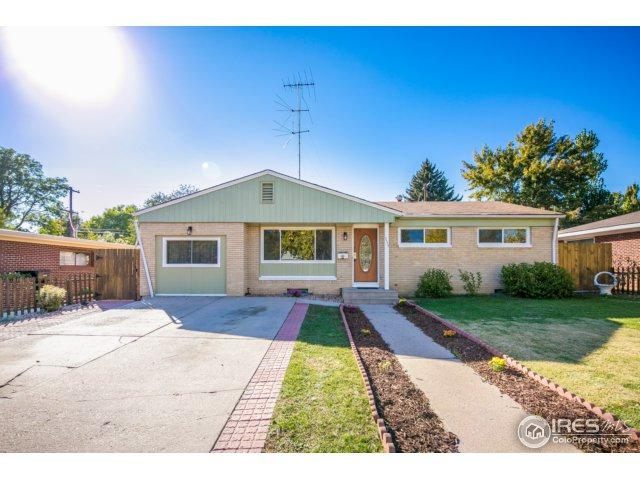 2523 14th Ave, Greeley, CO 80631 (#834336) :: The Peak Properties Group