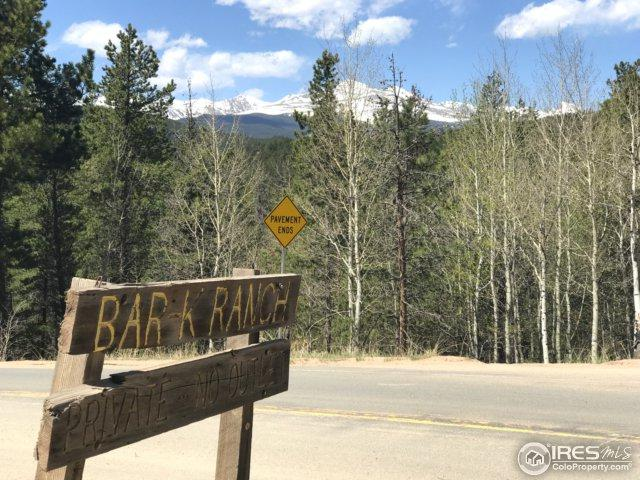 575 Ranch Rd Lot 90, Ward, CO 80481 (MLS #844834) :: 8z Real Estate