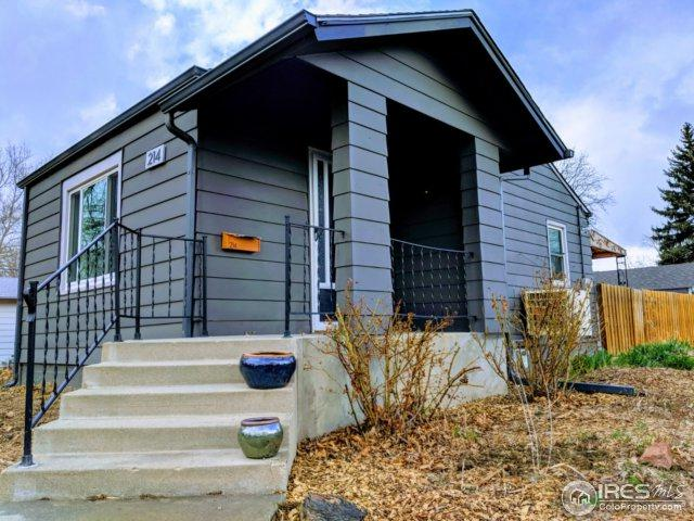 214 11th Ave, Longmont, CO 80501 (#845700) :: The Peak Properties Group
