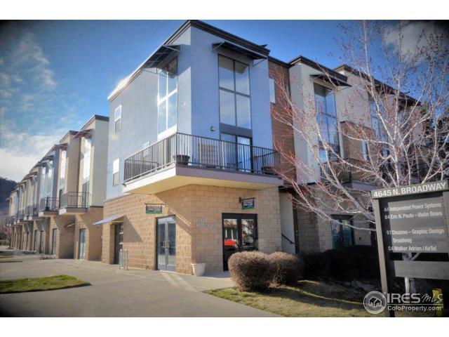4645 N Broadway St #4, Boulder, CO 80304 (MLS #846644) :: Downtown Real Estate Partners