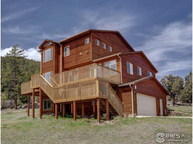 241 Choctaw Rd, Lyons, CO 80540 (#847639) :: The Peak Properties Group