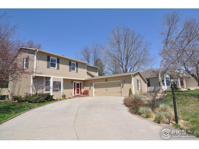 708 Dellwood Dr, Fort Collins, CO 80524 (MLS #848176) :: The Forrest Group