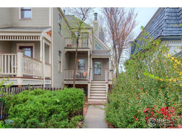 2135 Spruce St #6, Boulder, CO 80302 (MLS #849154) :: Tracy's Team