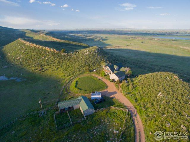 9540 Arapahoe Valley Rd, Laporte, CO 80535 (MLS #850601) :: Downtown Real Estate Partners
