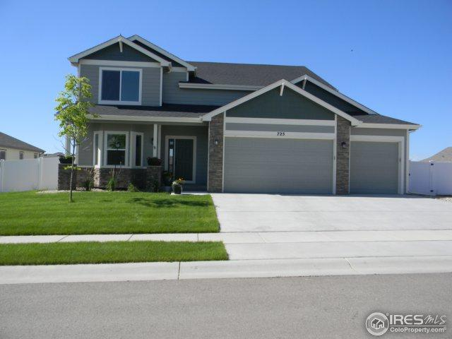 725 Blue Jay Dr, Severance, CO 80550 (MLS #851000) :: The Daniels Group at Remax Alliance