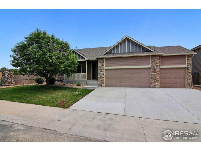202 Windflower Way, Severance, CO 80550 (MLS #853459) :: Kittle Real Estate