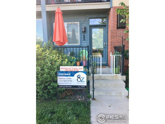 1707 Yarmouth Ave #106, Boulder, CO 80304 (MLS #854099) :: The Daniels Group at Remax Alliance
