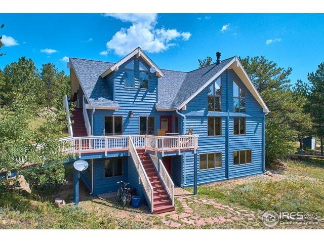 162 Ranch Rd, Ward, CO 80481 (MLS #859112) :: 8z Real Estate