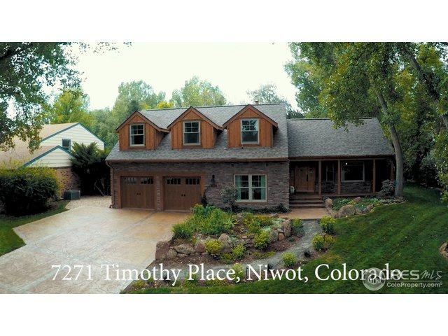 7271 Timothy Pl, Niwot, CO 80503 (#859408) :: The Peak Properties Group