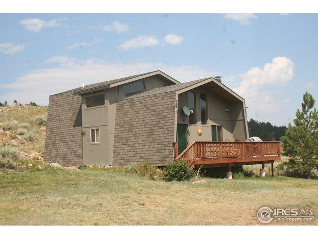 160 Cochiti Cir, Red Feather Lakes, CO 80545 (MLS #859423) :: Kittle Real Estate