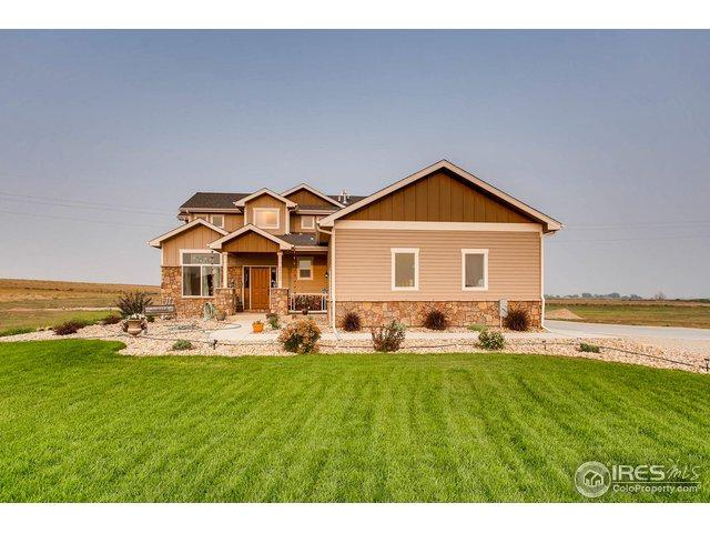 39552 Hilltop Cir, Severance, CO 80610 (MLS #859854) :: 8z Real Estate