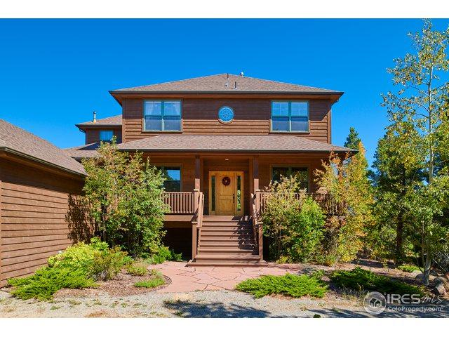 50 Shoshoni Way, Nederland, CO 80466 (#862374) :: The Peak Properties Group