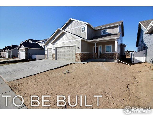 4125 Carrara St, Evans, CO 80620 (#862590) :: The Griffith Home Team