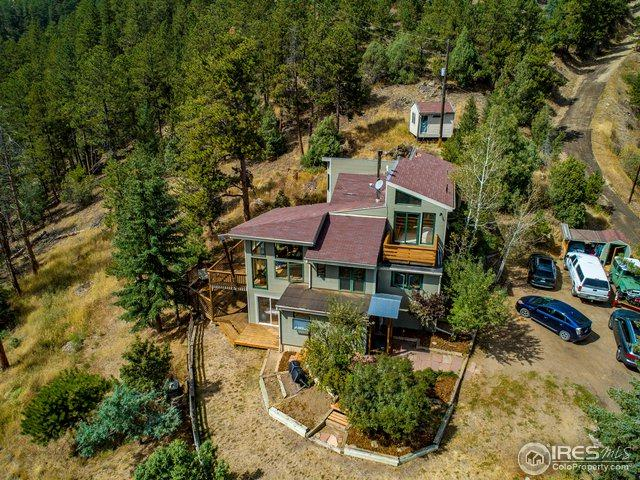 187 Nugget Hill Rd, Jamestown, CO 80455 (#862655) :: The Peak Properties Group