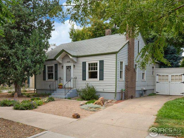 520 W Mountain Ave, Fort Collins, CO 80521 (MLS #863306) :: The Daniels Group at Remax Alliance