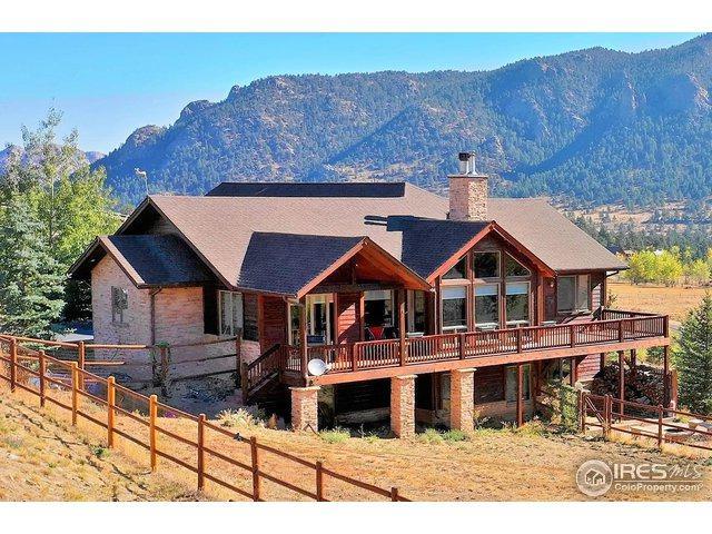 335 Saddleback Ln, Estes Park, CO 80517 (#863894) :: The Griffith Home Team