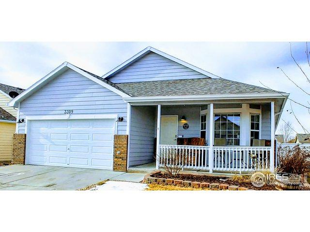3309 Grenache St, Evans, CO 80634 (MLS #872416) :: Kittle Real Estate