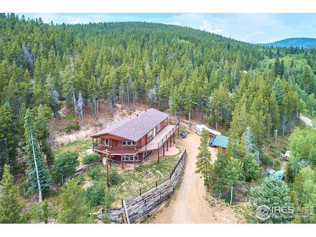 586 Lower Travis Gulch Rd, Black Hawk, CO 80422 (#874826) :: James Crocker Team