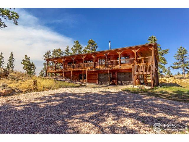 480 Manhead Mountain Dr, Livermore, CO 80536 (MLS #875035) :: Kittle Real Estate