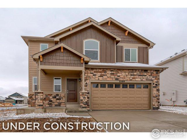 1291 Bakers Pass St, Severance, CO 80550 (MLS #877944) :: The Lamperes Team
