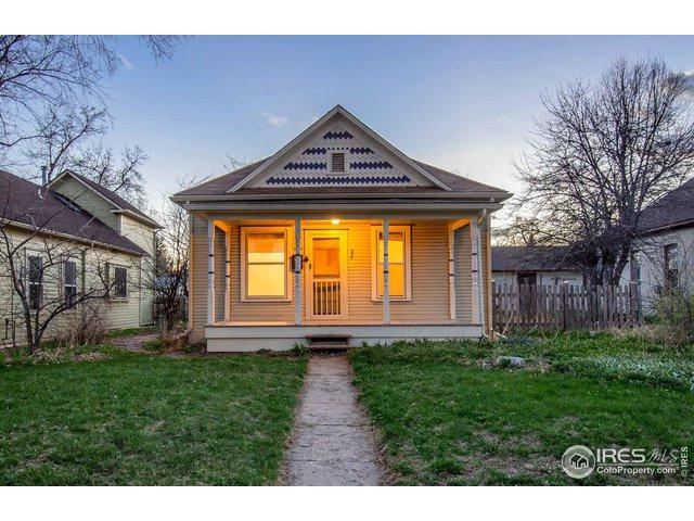 235 N Grant Ave, Fort Collins, CO 80521 (MLS #878381) :: The Lamperes Team