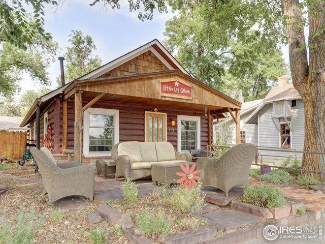 436 High St, Lyons, CO 80540 (MLS #880280) :: Hub Real Estate