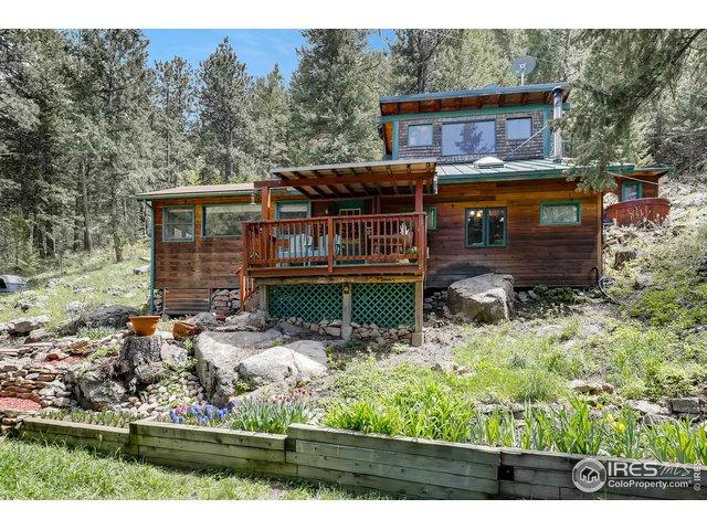 8801 Lefthand Canyon Dr, Jamestown, CO 80455 (MLS #881649) :: 8z Real Estate