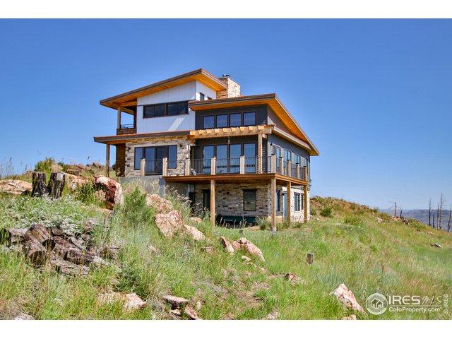 637 Hernia Hill Trl, Bellvue, CO 80512 (MLS #881947) :: Tracy's Team