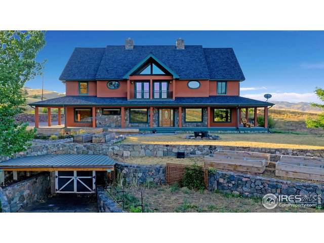 3070 Suri Trl, Bellvue, CO 80512 (#893176) :: The Griffith Home Team