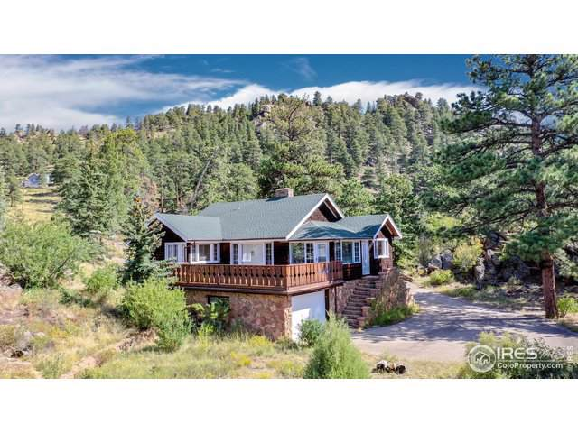 421 Upper Larkspur Rd, Estes Park, CO 80517 (#894120) :: The Dixon Group