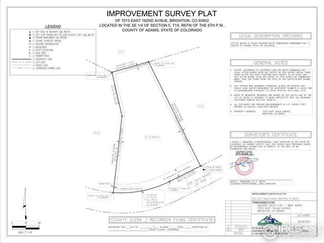 7015 E 162nd Ave, Brighton, CO 80602 (MLS #894471) :: Hub Real Estate