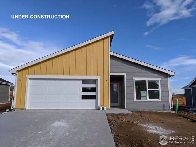 3308 Sheltered Harbor Dr, Evans, CO 80620 (#896456) :: HomePopper