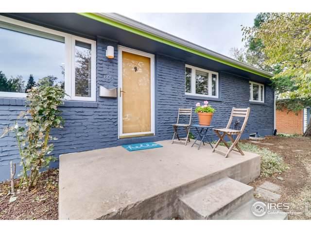 605 S 41st St, Boulder, CO 80305 (MLS #897694) :: Windermere Real Estate