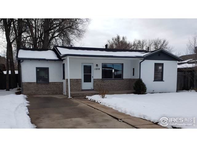 1808 6th St, Greeley, CO 80631 (MLS #900066) :: Downtown Real Estate Partners