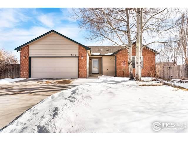 3816 Partridge Ct, Evans, CO 80620 (MLS #904598) :: Downtown Real Estate Partners
