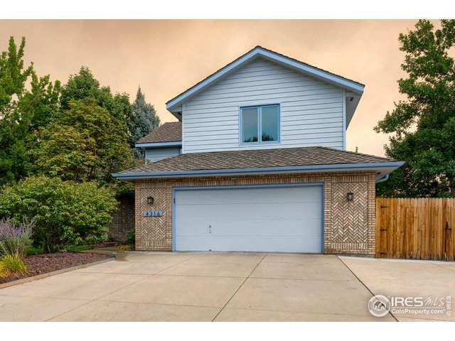 4316 Whippeny Dr, Fort Collins, CO 80526 (MLS #906622) :: Downtown Real Estate Partners