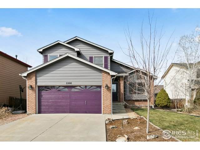 2200 23rd Ave, Longmont, CO 80501 (MLS #907647) :: Kittle Real Estate